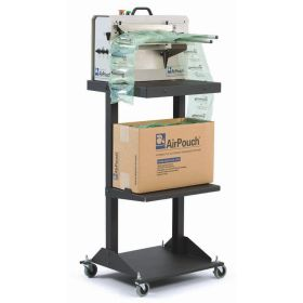 AirPouch-Express-3-on-cart-with-EarthAware-Bio-pillows